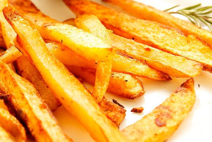 Как сделать картофель фри в духовке Фри без масла