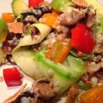 Овощной диетический салат для похудения