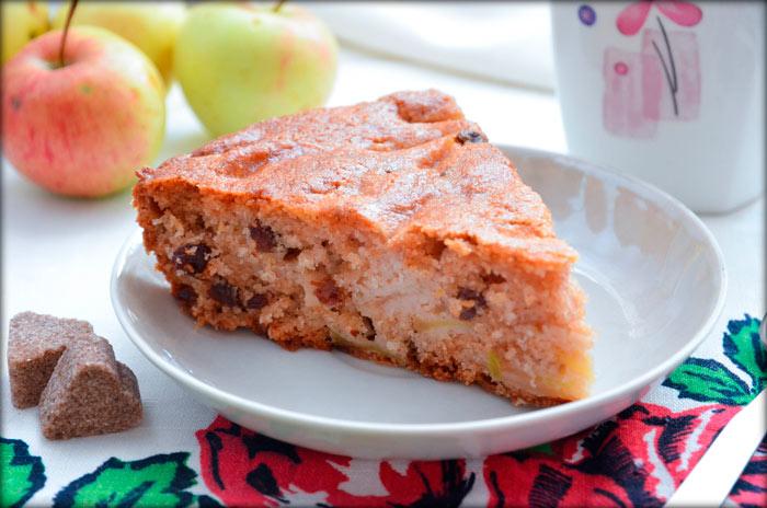 Яблочный пирог на сидре