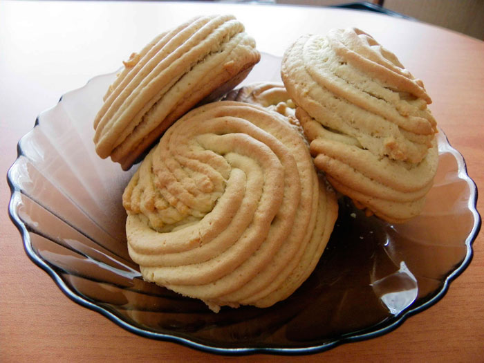 Рецепт простого печенья из творога