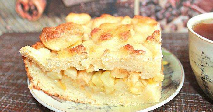Овсяно-творожный яблочный пирог. Рецепты творожного пирога с яблоками