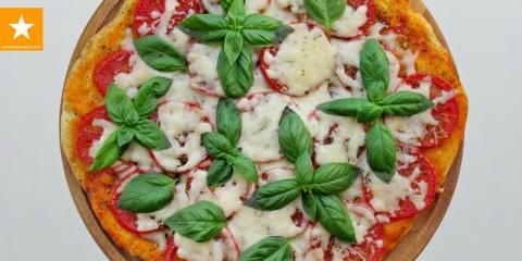 Пицца на тонком тесте без дрожжей и яиц