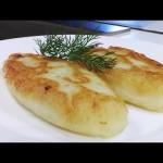 Пирожки картофельные с капустой видео рецепт.Великий пост.