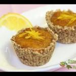 Пирожные с хурмой — видео-рецепт БЕЗ САХАРА — YouTube