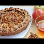 Постный пирог с яблоками — рецепт — YouTube
