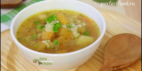 Постный суп с репой и картофелем — видео-рецепт — YouTube