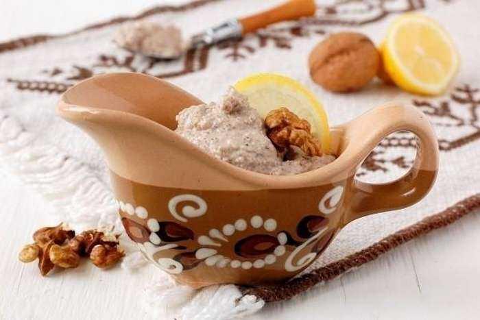 Рецепт орехового постного майонеза