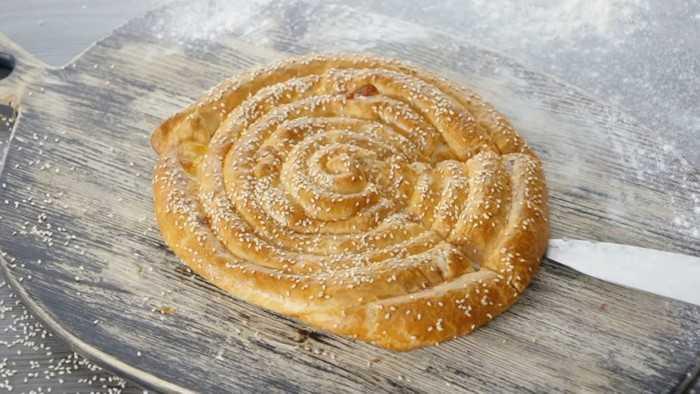 Как печь пирог «улитка»