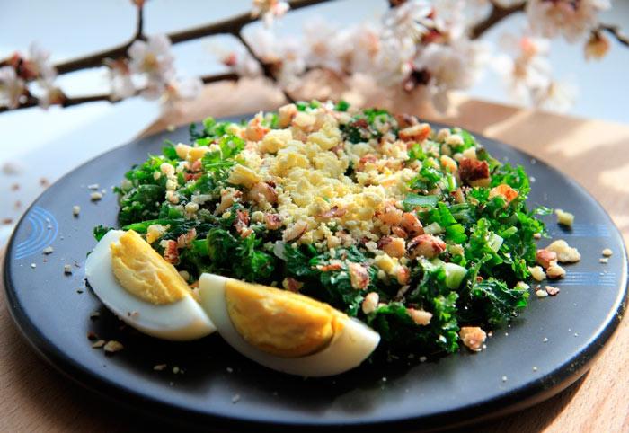 Рецепт салата из крапивы