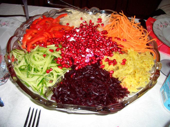 Салат «Ералаш» с картофелем фри