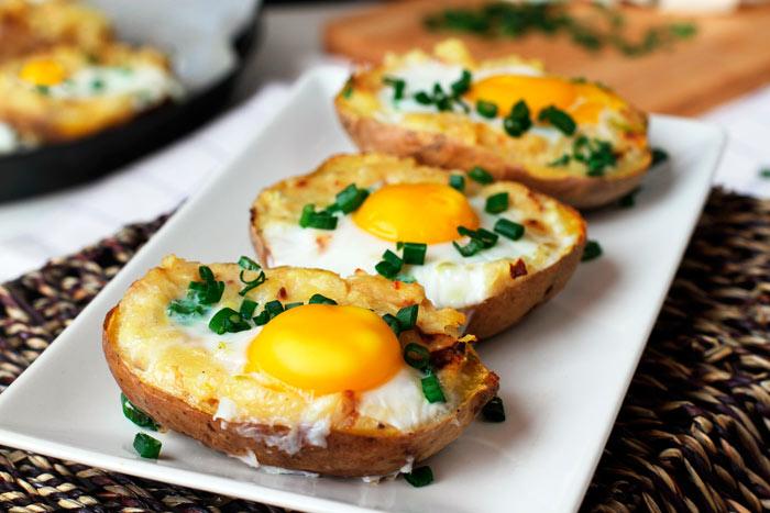 Вкусные яйца «В картошке»