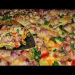 Рецепт фриттаты по-испански в духовке