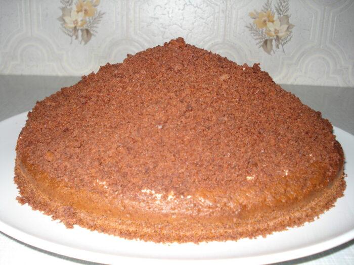 """торт """"Норка крота"""" с маскарпоне"""