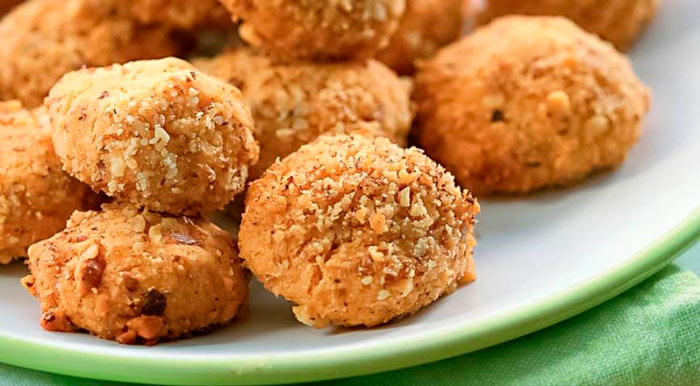 Низкокалорийное печенье из орехов