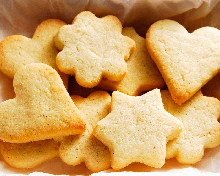 Вкусное печенье со сметаной