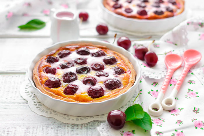 Французский пирог клафути фото