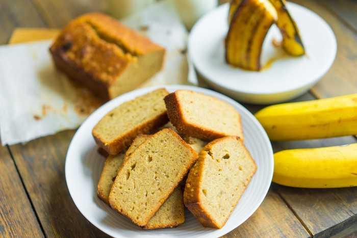 Из рисовой муки с бананами