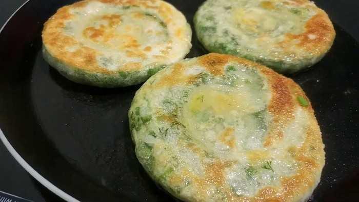 Рецепт с зеленью