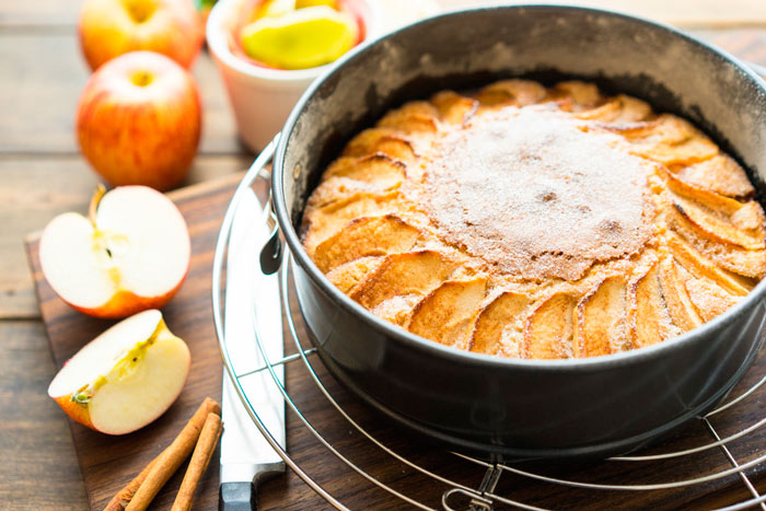 Яблочный пирог от Юлии Высоцкой фото
