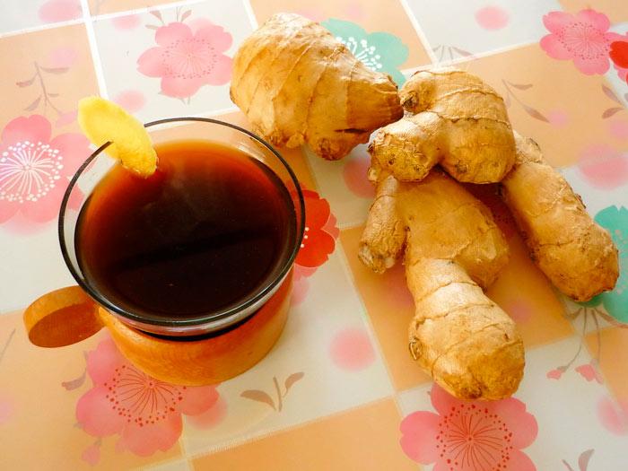Напиток с имбирем и корицей