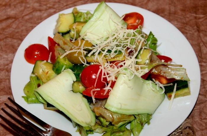 Салат айсберг быстрые рецепты С авокадо