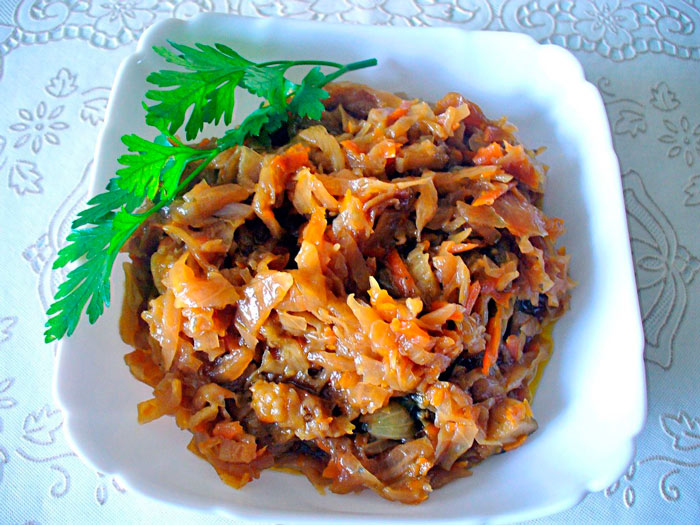 Как приготовить солянку из капусты с грибами рецепты