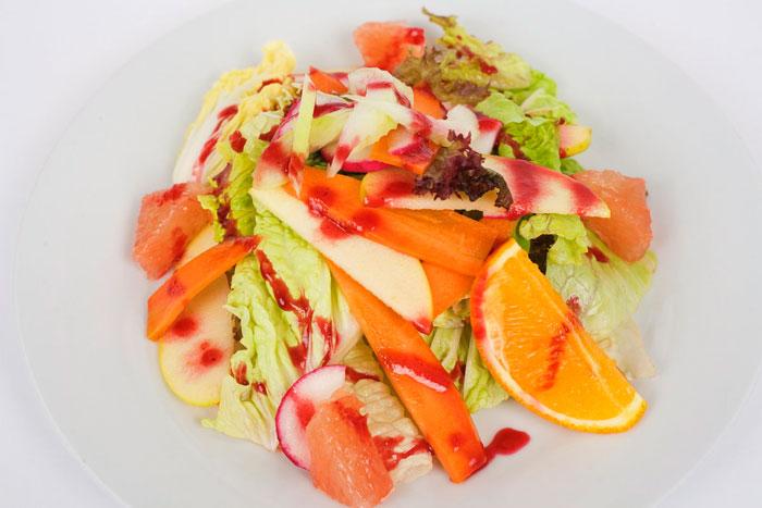 Салат со свежей капустой «Цитрусовый»