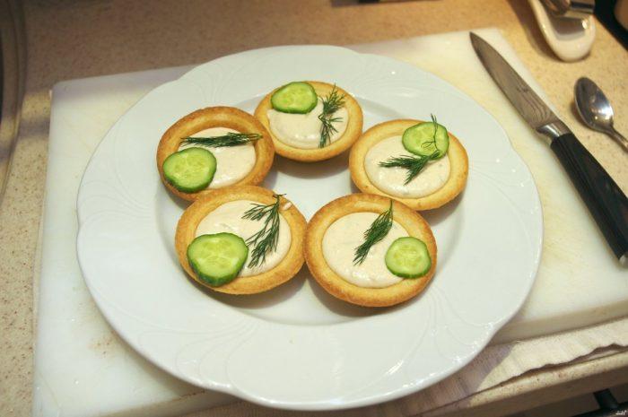 Вегетарианский рецепт с творожным сыром