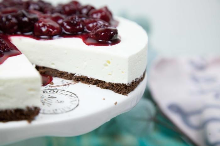 Рецепты творожного торта без выпечки - Ягодное наслаждение