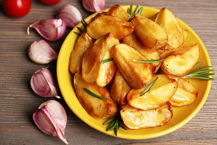 Картофель в соевом соусе фото