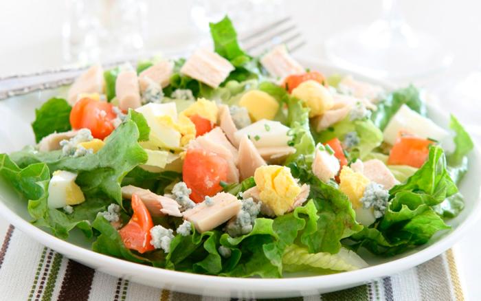 рецепты приготовления салатов с салатом айсберг