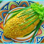 Салат с кукурузой и черносливом— экзотическая феерия вкуса