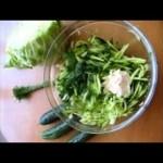 Салаты из весенней зелени, готовим весной!
