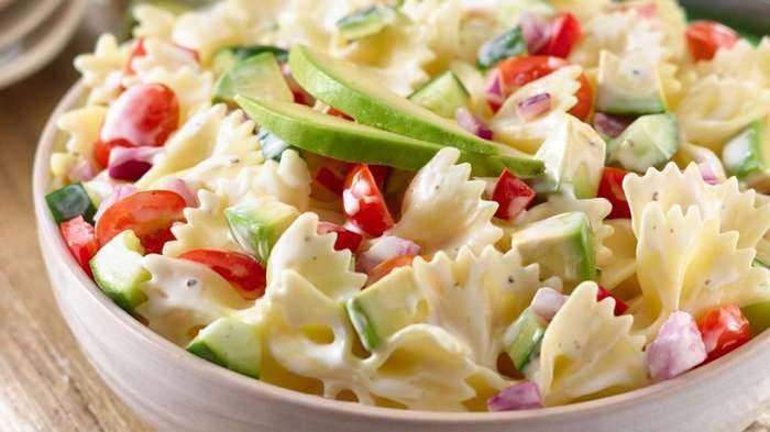 Паста— салат