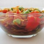 Самый вкусный белковый салат из бобов с необычной заправкой