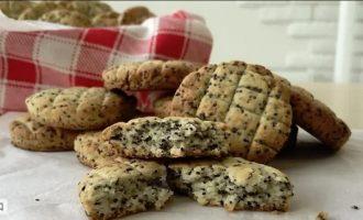 простое печенье с маком без яиц