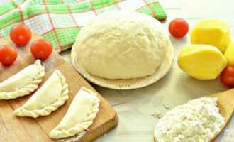 Постное тесто для вареников без яиц