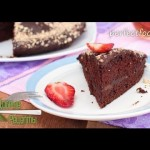 Шоколадный торт без яиц и молока — постный рецепт — YouTube