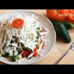 Шопский салат — рецепт — YouTube