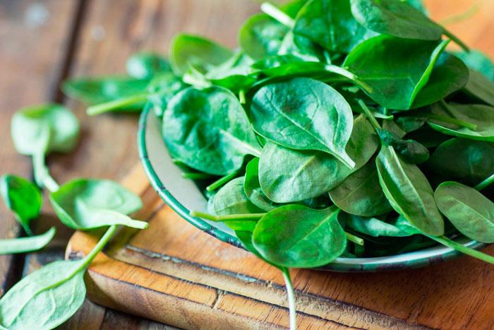Что можно приготовить из свежего шпината