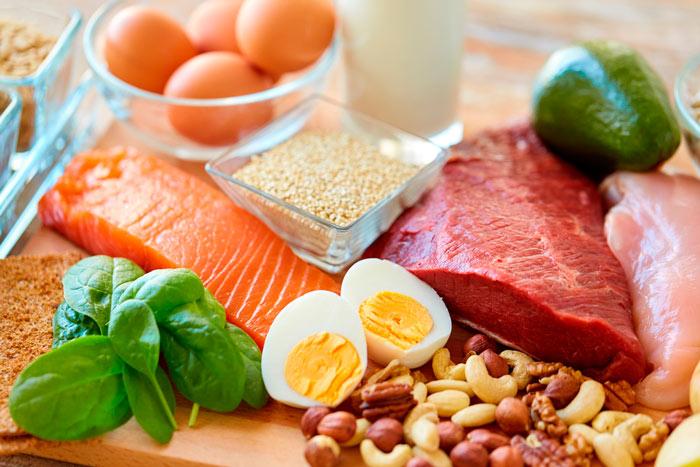 Основные продукты питания