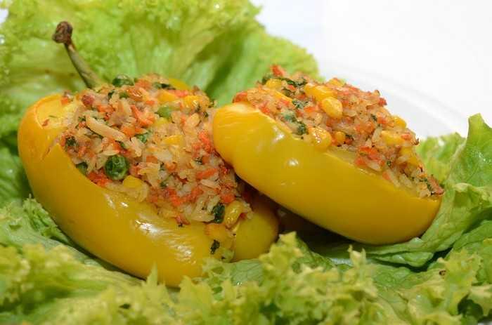 Фаршированные перцы без мяса: вкусные и полезные начинки