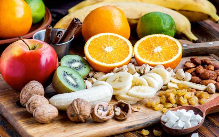 Что можно есть на ночь при похудении - Фрукты и орехи