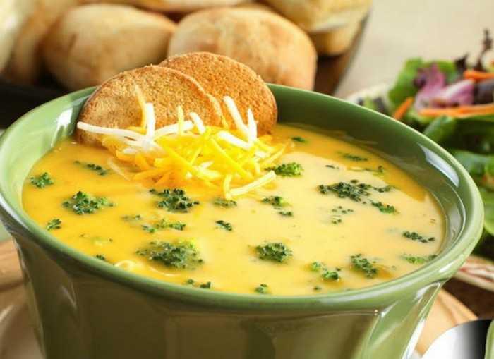 Как приготовить сырный суп из плавленого сыра
