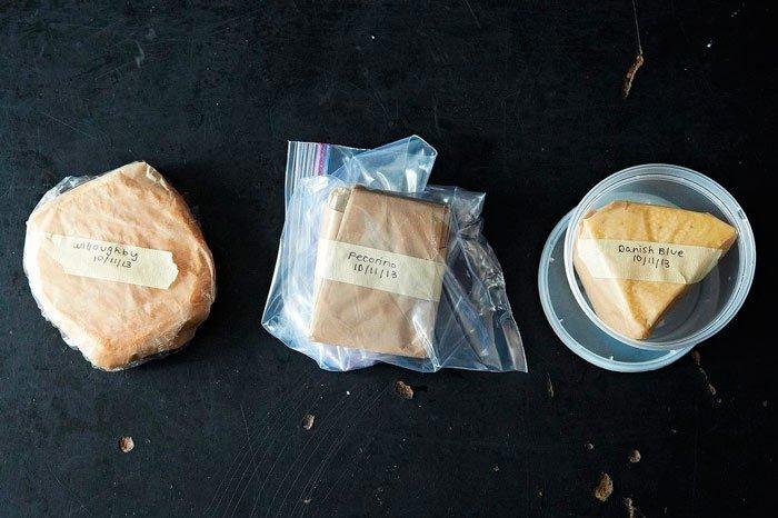 Заморозка кусков сыра (бри и другие твердые сыры)