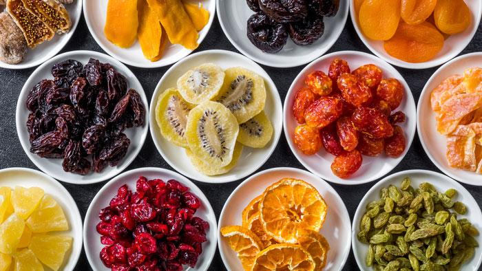 Обработка своими руками сушеных фруктов
