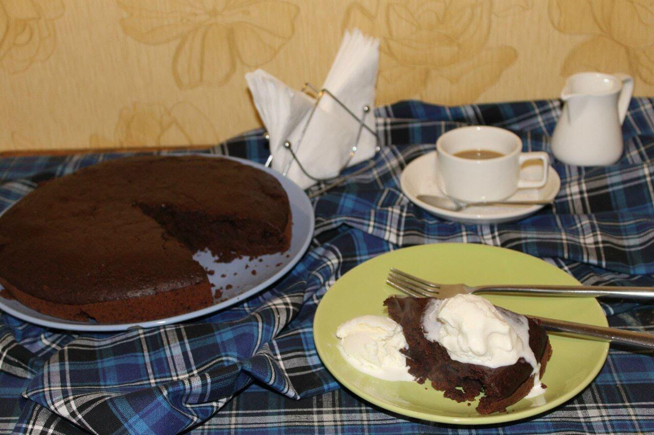 Рецепт сумасшедшего пирога Crazy cake