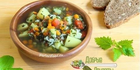 Суп из крапивы и щавеля — рецепт — YouTube