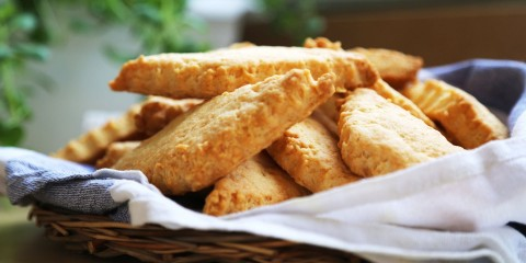 Сырное печенье — рецепт