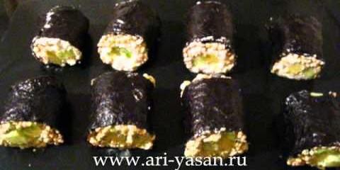 Сырые суши